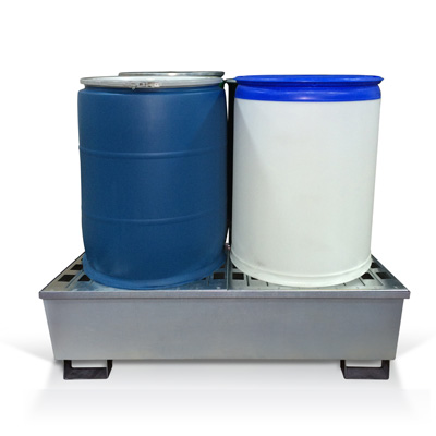 Steel-4-drum-pallet