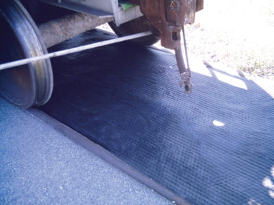 railroad track mat
